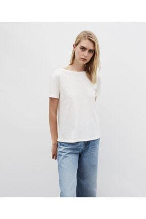İpekyol Kadın Beyaz Basic Tişört 1