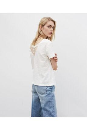 İpekyol Kadın Beyaz Basic Tişört 2