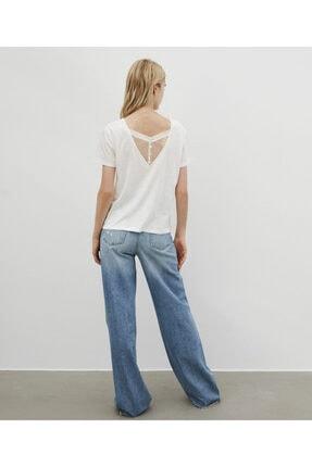 İpekyol Kadın Beyaz Basic Tişört 3