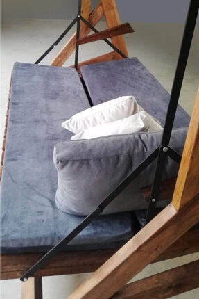 Alg Home Masif Ahşap Salıncak Yatak 1