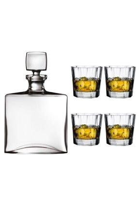 Square Nude Logolu Kristal Hemingway Özel Viski Seti 48223 LMT VİSKİ SETİ