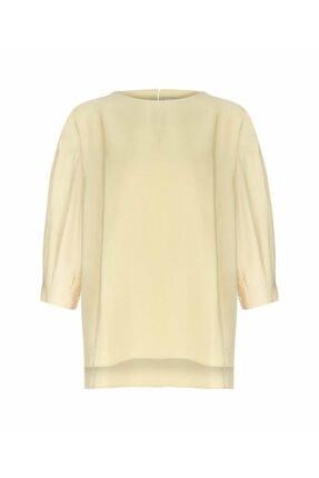 İpekyol Kadın Sarı Omuz Pencereli Bluz 4