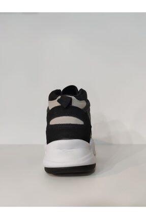 MP Erkek Beyaz Bilek Boy Siyah Basket Ayakkabı 2