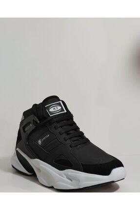 MP Erkek Beyaz Bilek Boy Siyah Basket Ayakkabı 4
