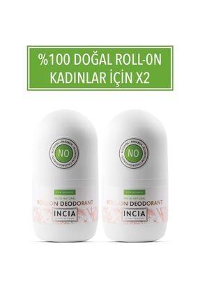 INCIA Doğal Roll-on Deodorant For Women 50 ml X 2 0