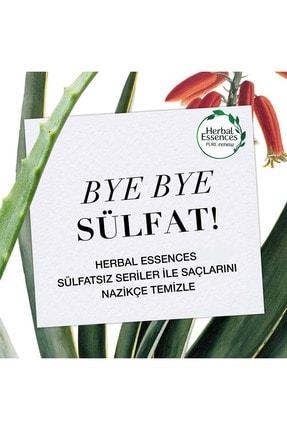 Herbal Essences Sülfatsız Güç Ve Nem Aloe + Bambu Şampuan 380 Ml + Saç Bakım Kremi 275 Ml 2