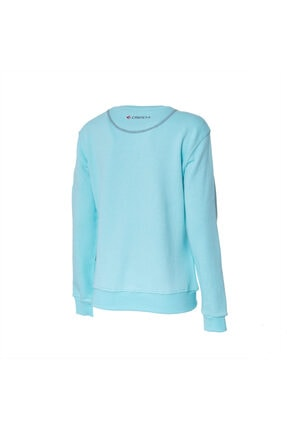 Cresta Kadın Turkuaz Outdoor Basic Sweatshirt 1