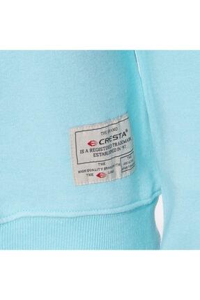 Cresta Kadın Turkuaz Outdoor Basic Sweatshirt 2