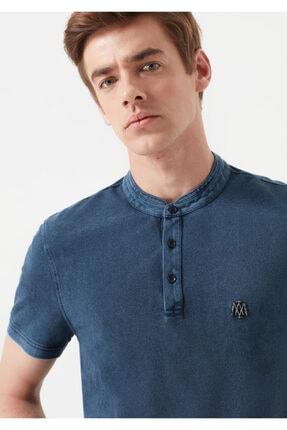 Mavi Erkek Mavi Hakim Yaka T-Shirt 1