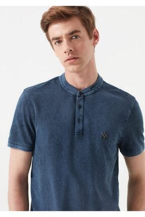 Mavi Erkek Mavi Hakim Yaka T-Shirt 2