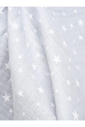 Minikom Baby Müslin Puset Oto Koltuğu Yıldızlar Ana Kucağı Örtüsü 4