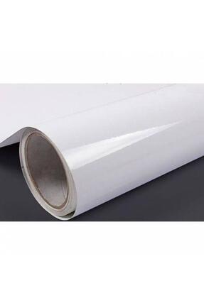 Ecce Parlak Beyaz Yapışkanlı Folyo  61 cm x 10 mt 0