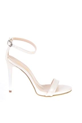 Bambi Beyaz Sedef Kadın Abiye Ayakkabı K01527007909 1
