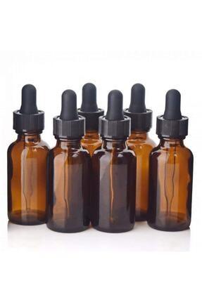 Liva Plazma Damlalıklı Amber Şişe 30 ml  6 Adet 0