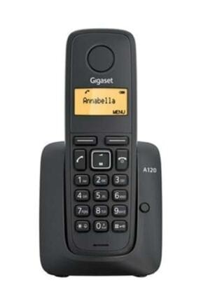 Gigaset Siyah 50 Rehber Işıklı Ekran Dect Telefon A120 0