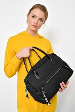 Moda azza Kadın Siyah Omuz Çantası 0