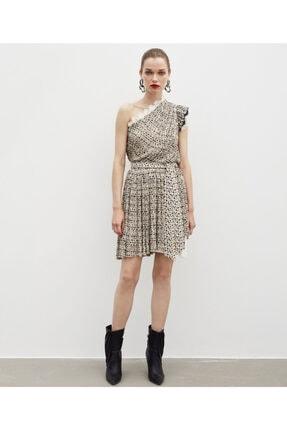 İpekyol Kadın Kahverengi Elbise 0