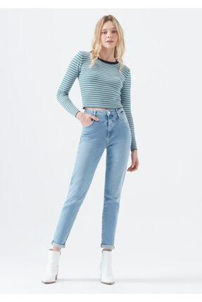 Mavi Kadın Lisa Gold Icon Indigo Jean Pantolon 101105-31854 0