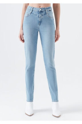 Mavi Kadın Lisa Gold Icon Indigo Jean Pantolon 101105-31854 3