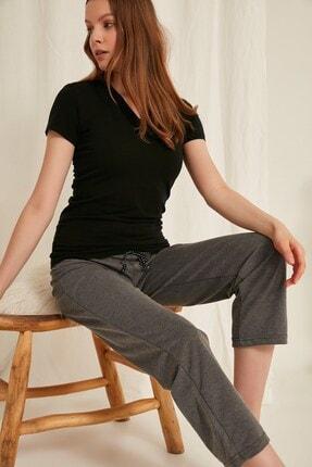 C&City Kadın Pijama Altı 620 Gri Melanj 2