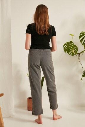 C&City Kadın Pijama Altı 620 Gri Melanj 3