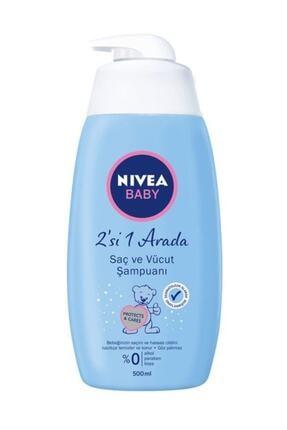 Nivea Baby Saç Ve Vücut Şampuanı 500 Ml 0