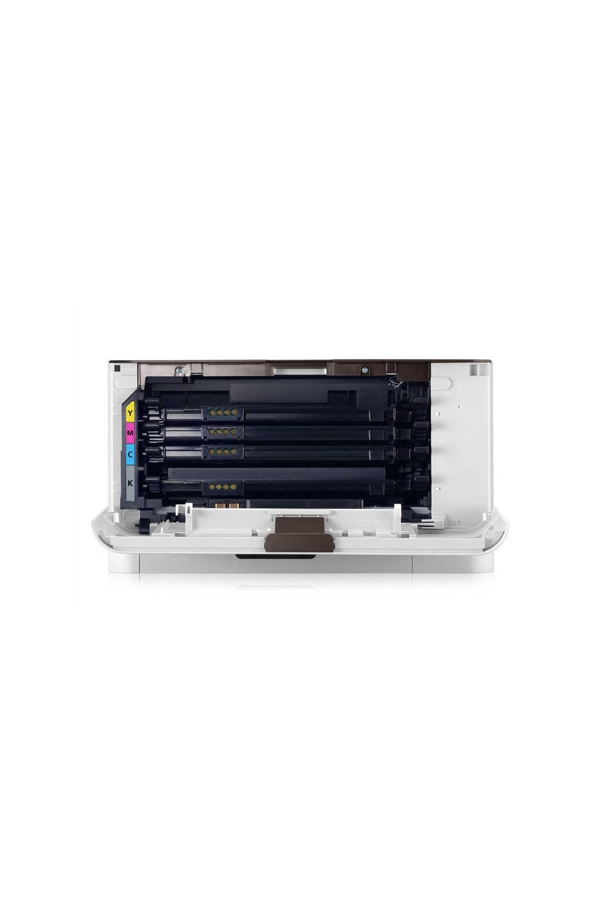 Samsung Clp-365 Renkli Laser Yazıcı Tam Dolu Muadil Tonerli