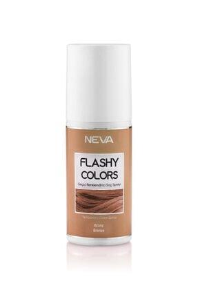 Flashy Colors Bronz Geçici Renk Saç Spreyi 75 ml 0