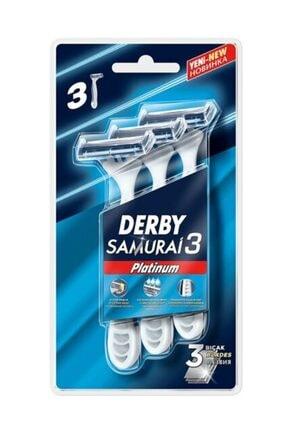 Derby 3'lü Samura 3 Platınum Blıster 0