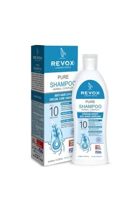 Revox Pure Saç Dökülmelerine Karşı Özel Bakım Şampuanı 400 Ml 0