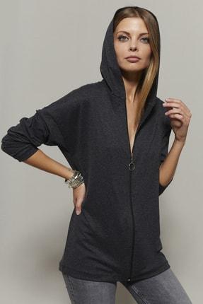 تصویر از سوییشرت  زنانه خاکستری