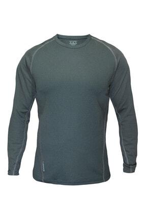 Sivugin Erkek Haki Outdoor Uzun Kollu Tactical Tişört 0