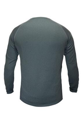 Sivugin Erkek Haki Outdoor Uzun Kollu Tactical Tişört 1