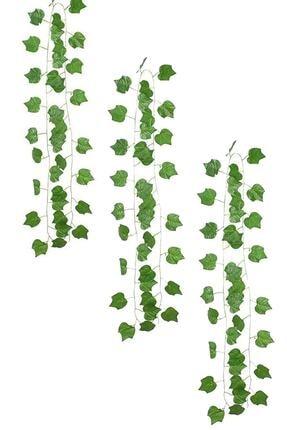 bimbambom Yapay Sarmaşık Üçgen Yaprak 230 cm 3 Adet Yapay Asma Yaprağı 0