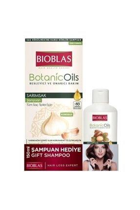 Bioblas Botanic Oils Sarımsaklı Şampuan 360 Ml + 150ml 0