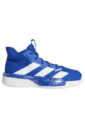 adidas Unisex Çocuk Mavi Pro Next Basketbol Ayakkabısı 0