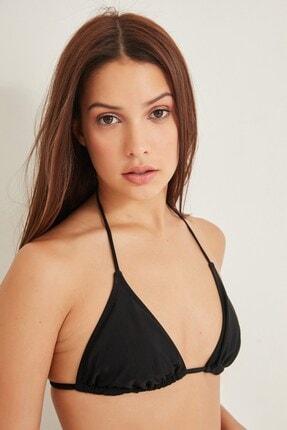 C City Kadın Üçgen Bikini Üstü 2955 Siyah 2