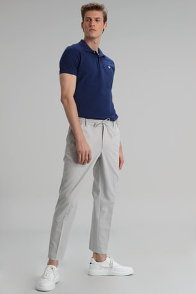 Lufian Laon Spor Polo T- Shirt Açık Lacivert 2