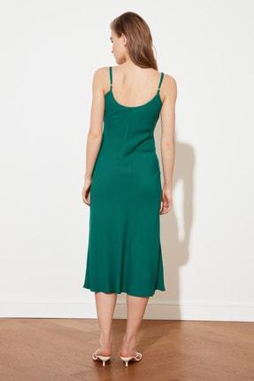 TRENDYOLMİLLA Yeşil Askılı Elbise TWOSS19EL0172 3