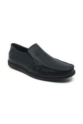 Taşpınar Üçlü Hakiki Deri Yazlık Tam Rok Rahat Erkek Ortopedik Ayakkabı 40-46 0