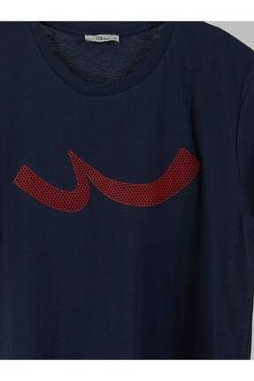 Ltb Erkek  Lacivert  Baskılı  Kısa Kol Bisiklet Yaka T-Shirt 012208415960890000 2