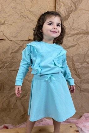 Su Yeşili Penye Elbise CE0063