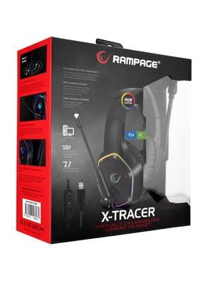 Rampage Rm-k33 Tracer 7,1 Rgb Gaming Oyuncu Mikrofonlu Kulaklık 4