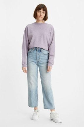 Levi's Kadın Açık Mavi Yüksek Bel Ribcage Straight Jean 0