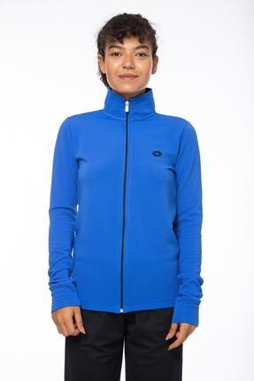 Lotto Sweatshirt Kadın Saks Mavi-lacivert-ottoman Sweat Fz Pl W-r9653 1