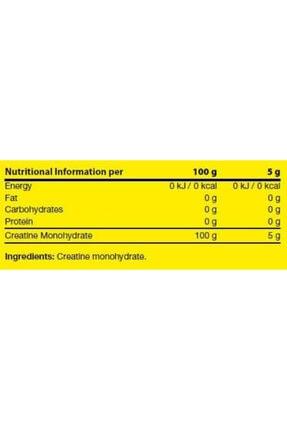 Dynamic Nutrition Creatine Powder 300 Gr - 60 Porsiyon 1