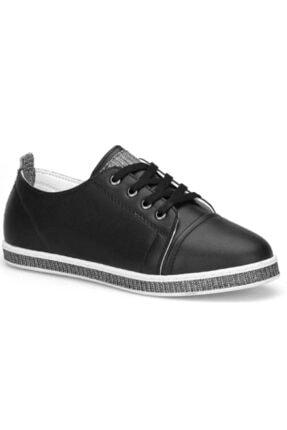 Kadın Siyah Simli Ayakkabı 201