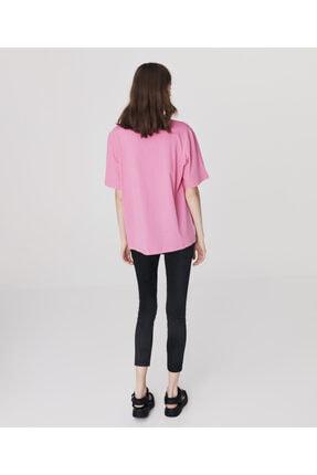 Twist Minimal Baskılı T-shirt 3