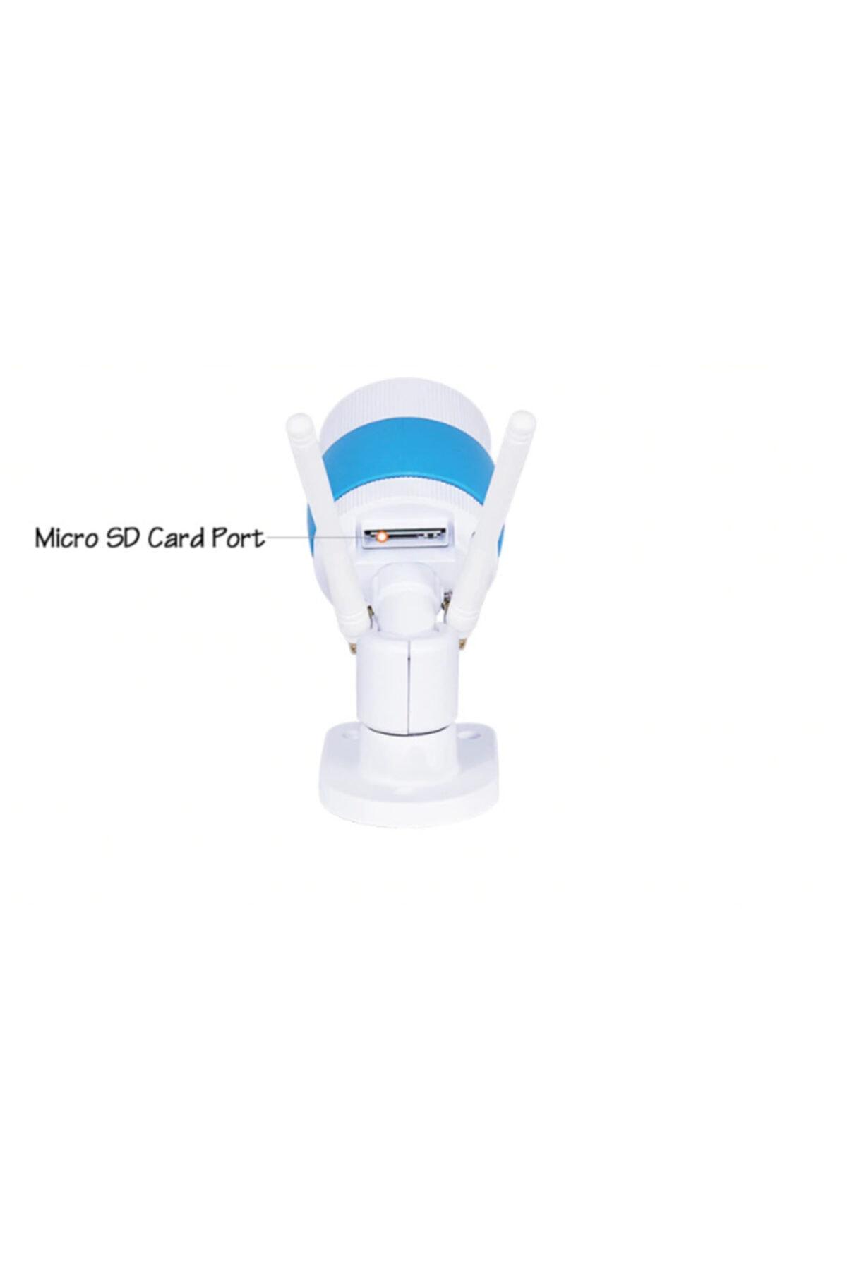 Mobitell Dış Mekan 360° 1080p Full Hd Wi-fi Ip Güvenlik Kamerası