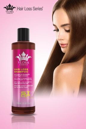 VLORA Kadınlar Için Saç Dökülme Karşıtı Şampuan 250 ml. 2